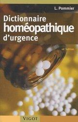 Dictionnaire homéopathique d'urgence