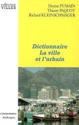 Dictionnaire La ville et l'urbain