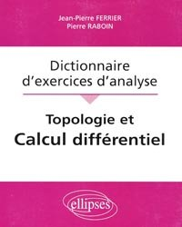 Dictionnaire d'exercices d'analyse