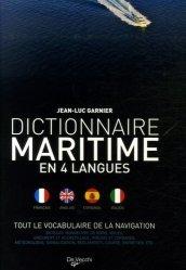 Dictionnaire maritime en 4 langues. Tout le vocabulaire de la navigation
