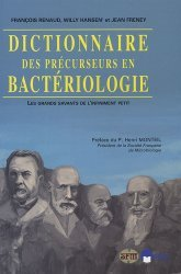 Dictionnaire des précurseurs en bactériologie