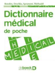 Dictionnaire médical de poche