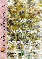 Didactique des Mathématiques et Professionnalisation