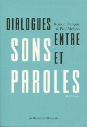 Dialogues entre sons et paroles