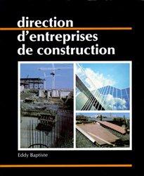 Direction d'entreprises de construction