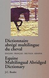 Dictionnaire abrégé multilingue du cheval