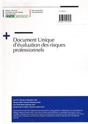 Document unique Métier : Architecte - Agence d'Architecture - Version 2016