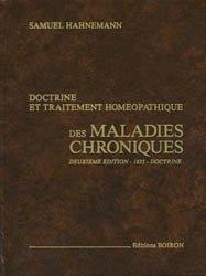 Doctrine et traitement homéopathique des maladies chroniques