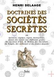 Doctrines des sociétés secrète