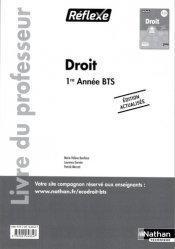 Droit BTS 1re année BTS  Réflexe