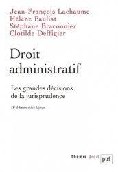 La couverture et les autres extraits de L'essentiel du droit administratif général
