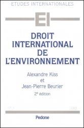 Droit international de l'environnement. 2e édition