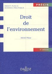 Droit de l'environnement . 5e édition