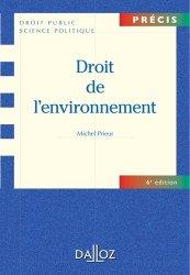 Droit de l'environnement. 6e édition