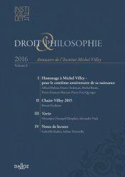 Droit & Philosophie N° 8/2016