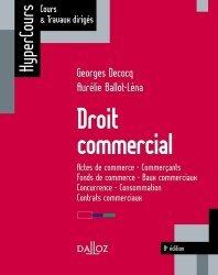 Droit commercial. Edition 2017