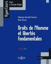 Droits de l'Homme et libertés fondamentales. 3e édition