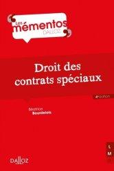 Droit des contrats spéciaux. 4e édition