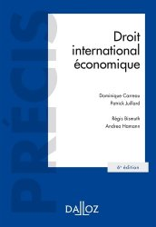 Droit international économique. 6e édition