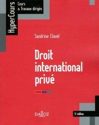 La couverture et les autres extraits de Droit international public. 10e édition