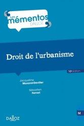 La couverture et les autres extraits de Droit de l'aménagement, de l'Urbanisme et de l'Habitat. Edition 2020