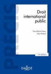 Droit international public. 14e édition