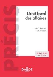 Droit fiscal des affaires. Edition 2019-2020