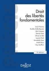 Droit des libertés fondamentales. 8e édition