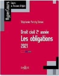Droit des obligations. Edition 2021