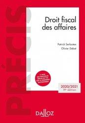 Droit fiscal des affaires. Edition 2020-2021