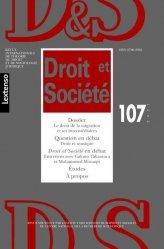 Droit et Société n°107/2021