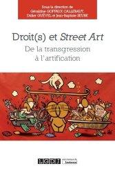 Droit(s) et street art. De la transgression à l'artification