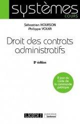Droit des contrats administratifs. 2e édition