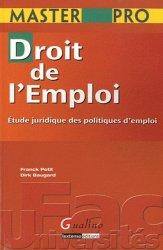 Droit de l'emploi. Etudes juridiques des politiques d'emploi