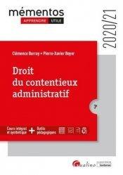 Droit du contentieux administratif. 3e édition