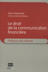 Droit de la communication financière