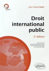 Droit international public. 3e édition