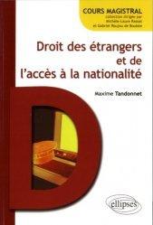 Droit des étrangers et de l'accès à la nationalité