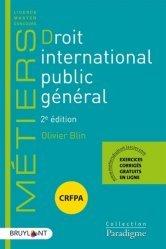 Droit international public général. 2e édition