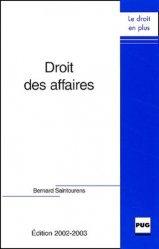 Droit des affaires. 2e édition