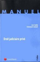 La couverture et les autres extraits de Institutions juridictionnelles. 3e édition