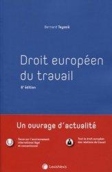 Droit européen du travail. 6e édition