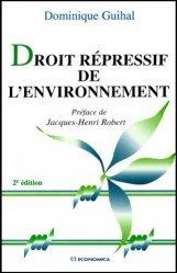 Droit répressif de l'environnement. 2e édition
