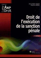 Droit de l'exécution de la sanction pénale. 2e édition