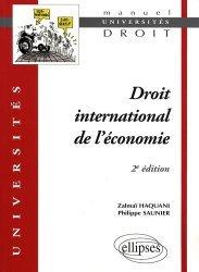 Droit international de l'économie. 2e édition