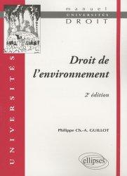 Droit de l'environnement. 2e édition