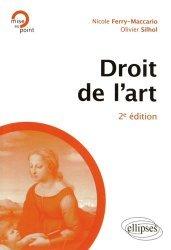 Droit de l'art. 2e édition