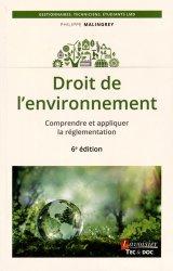 La couverture et les autres extraits de Code de l'environnement. Annoté et commenté, Edition 2017