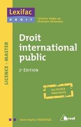 Droit international public. 2e édition