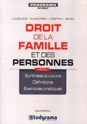 Droit de la famille et des personnes. 4e édition